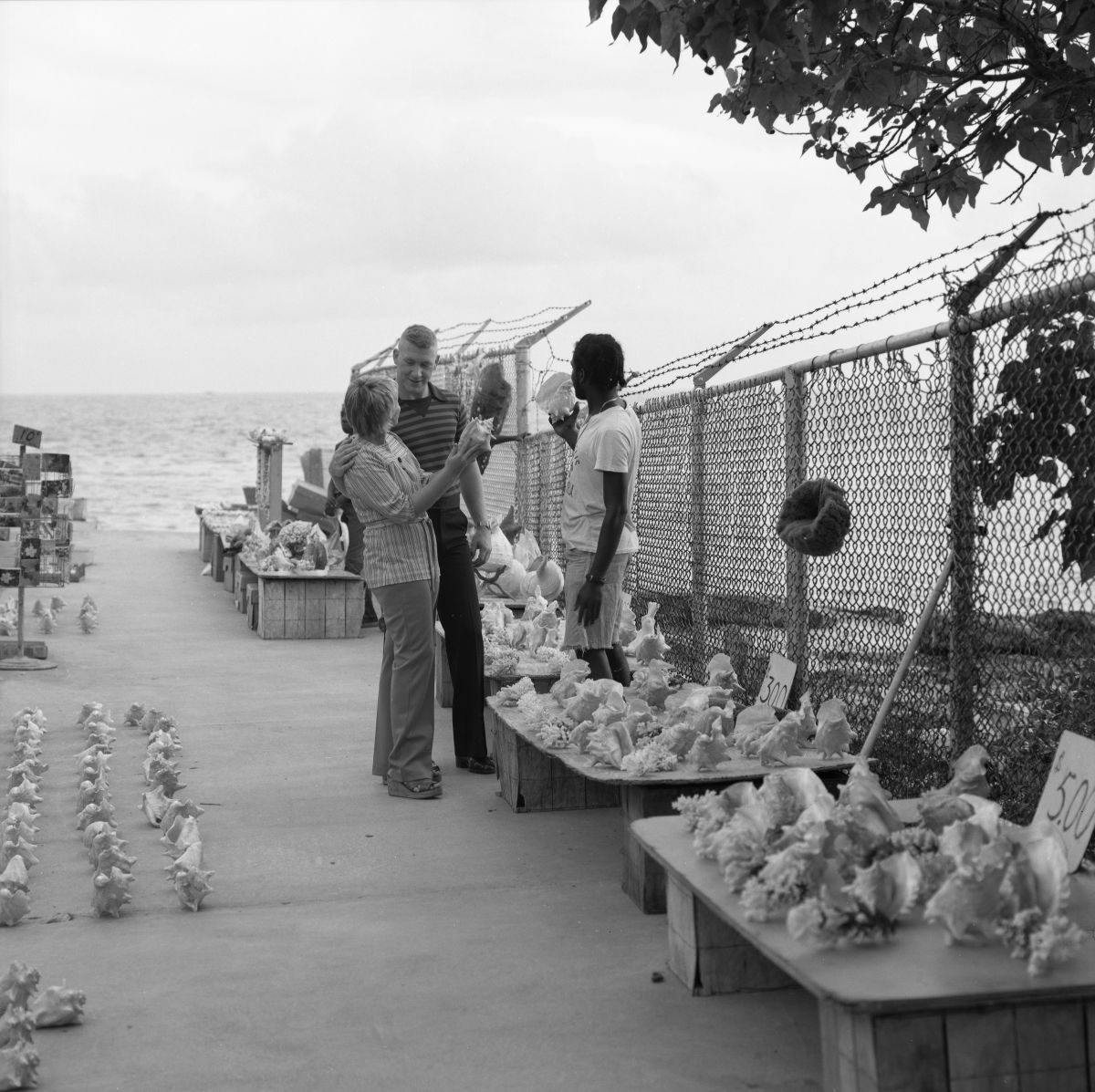 Street vendors at the southernmost point of the continental United States - Key West, Florida.