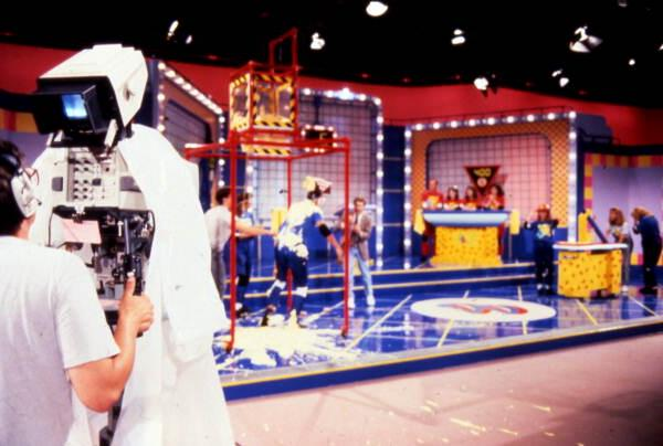 Florida Memory - Scene from the game show Family Double Dare