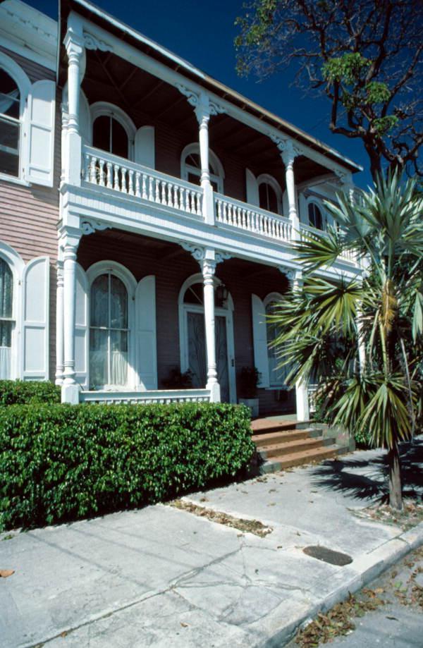 Old Mercedes Hospital at 1209 Virginia Street - Key West, Florida.
