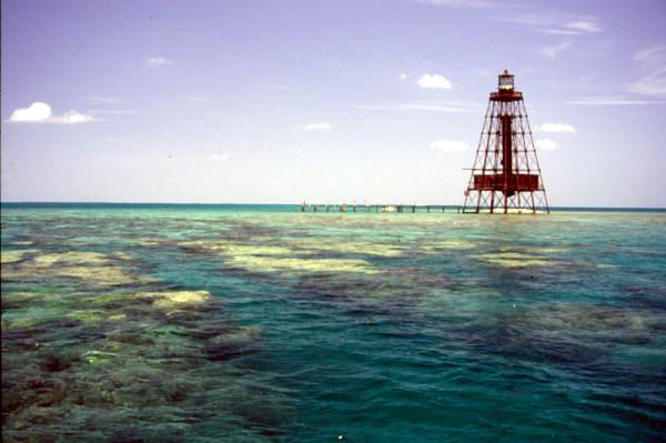 Sand Key Lighthouse - Key West, Florida.