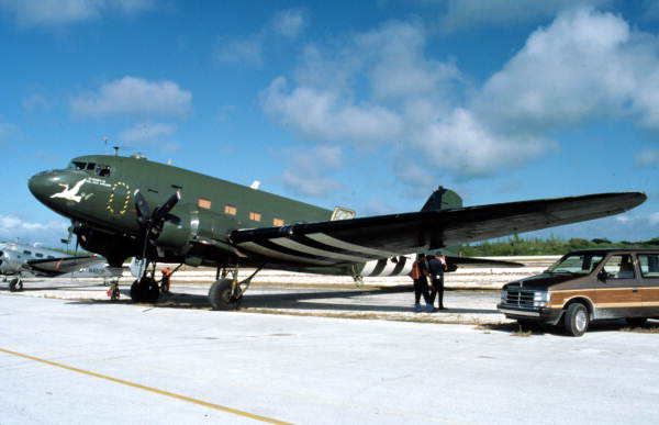 "C-47 ""Sky Train"" - Key West, Florida.."