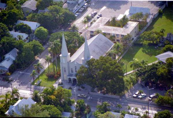 St. Mary's Star of the Sea Church on Truman Ave., Key West, FL..