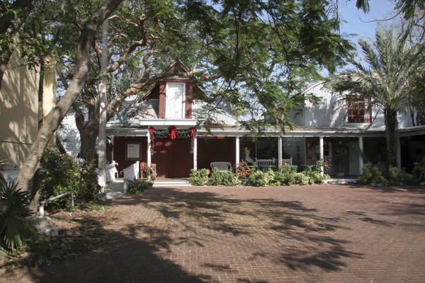 Florida Memory Red Barn Theatre At 319 Duval Street Key