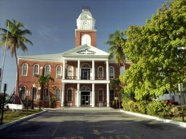 Florida Memory - The Monroe County Court House on Whitehead