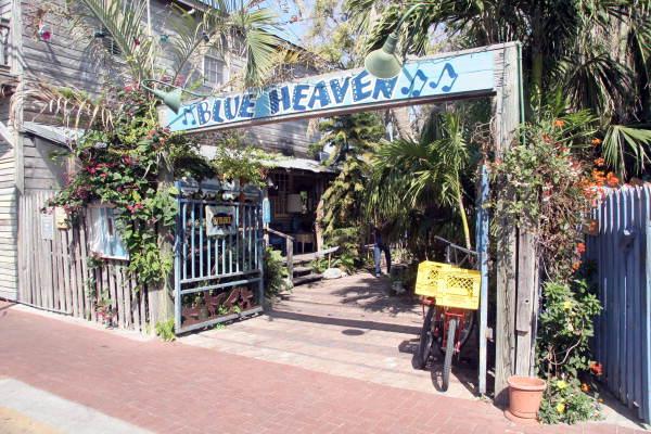 Florida Memory Entrance To The Blue Heaven Restaurant
