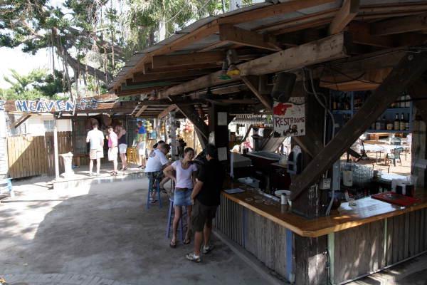 Florida Memory Outdoor Bar Of The Blue Heaven Restaurant