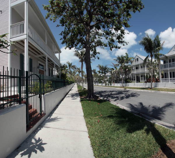 Key West Apartments: Panoramic View Of Truman Annex Housing