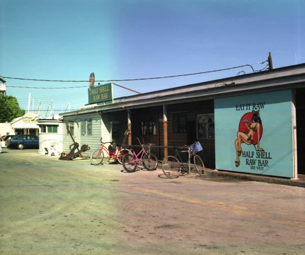 Florida Memory View Of The Half Shell Raw Bar Seafood
