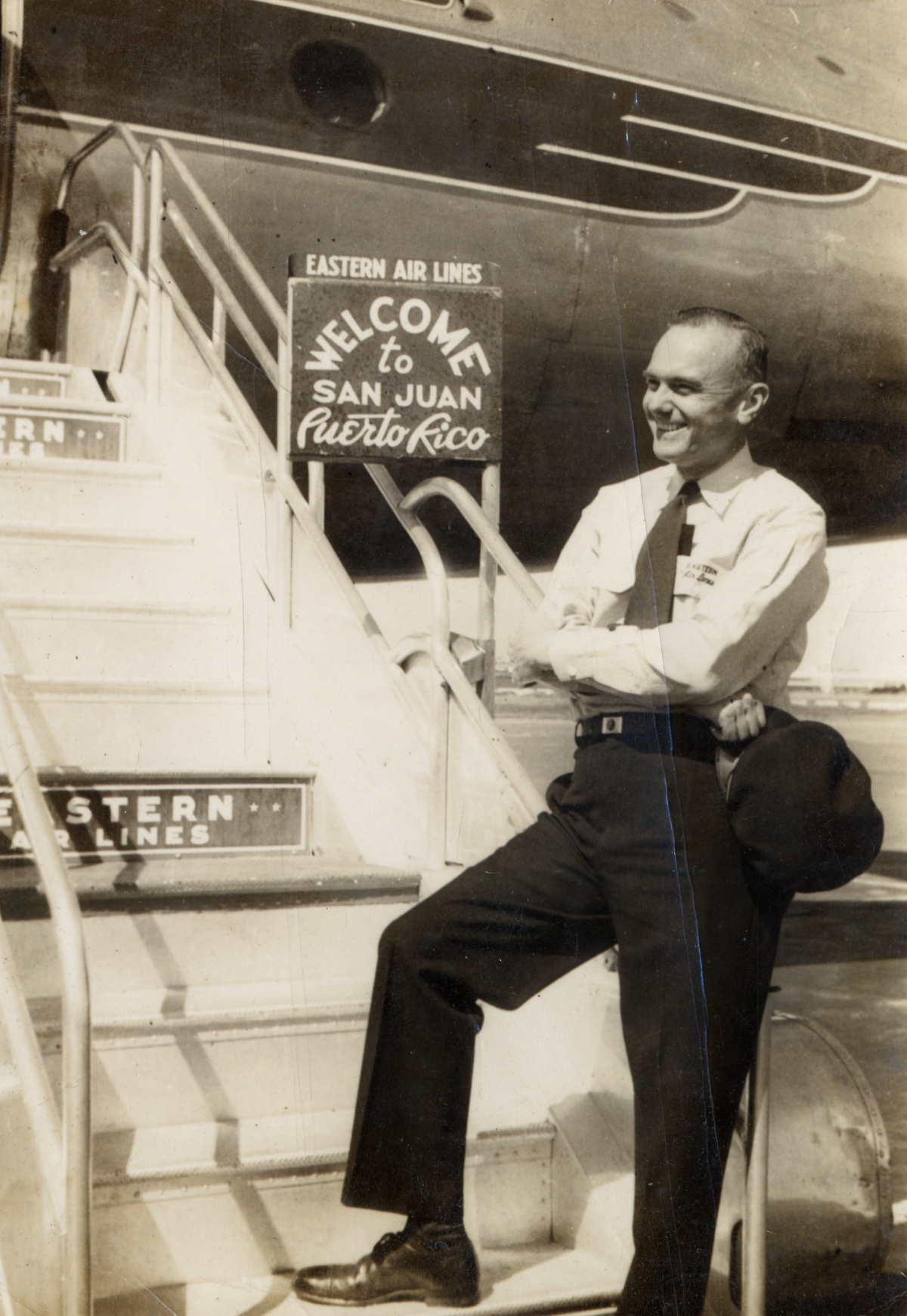 Eastern Air Lines Captain R.C. Young.
