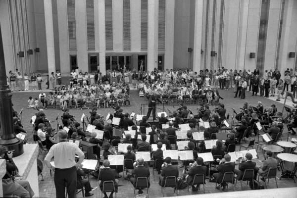Florida Orchestra at the capitol - Tallahassee, Florida.