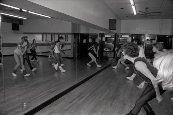 Women exercise at Body Electric - Tallahassee, Florida.