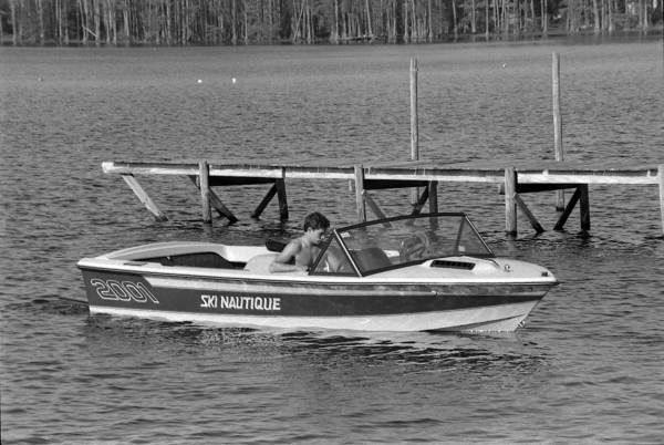 Boating on the Lake at FSU's Reservation - Tallahassee, Florida.