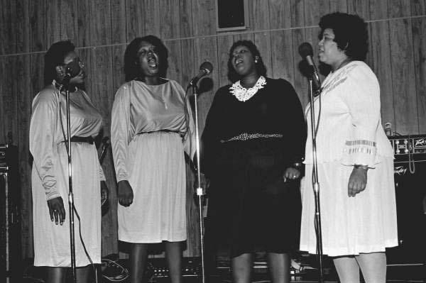 Faith Gospel Singers performing at the Frontline Outreach Building- Orlando, Florida.