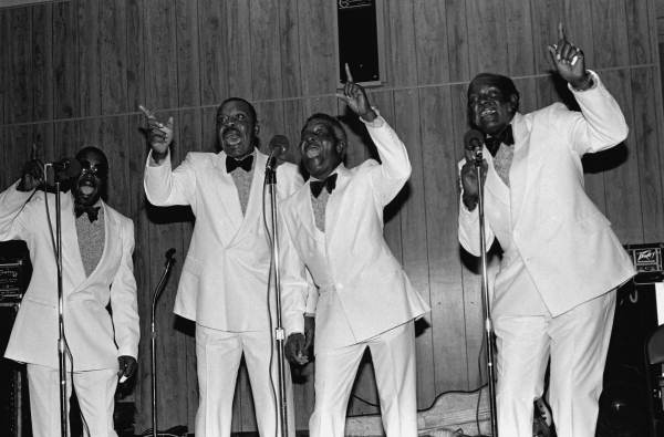 Gospel group The Heavenly Trumpets performing at the Frontline Outreach Building- Orlando, Florida.