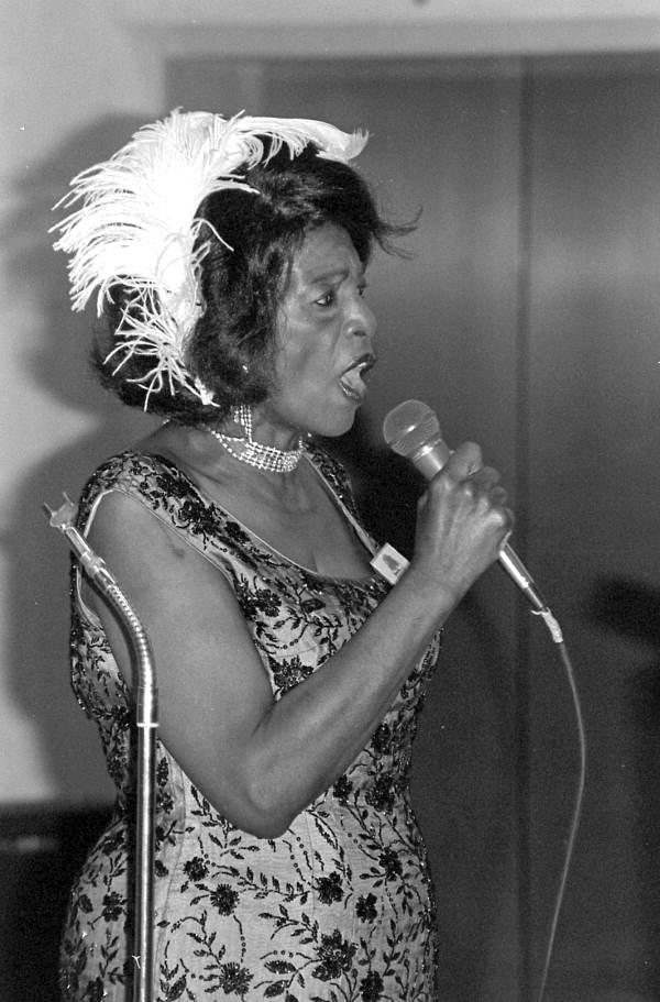 Marie Buggs performing at the 1985 Folk Heritage Awards - Tallahassee, Florida.