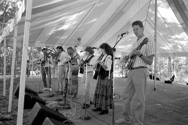 Salt Run from St. Augustine performing at the 1992 Florida Folk Festival - White Springs, Florida.