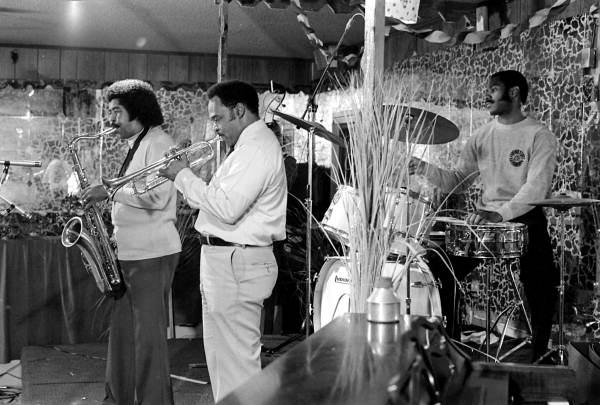 Ida Goodson's blues and gospel band rehearsing - Pensacola, Florida.