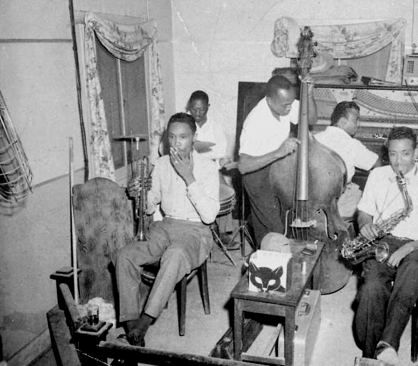 Musicians performing at the Twilight Club on Barrancas Avenue - Pensacola, Florida.