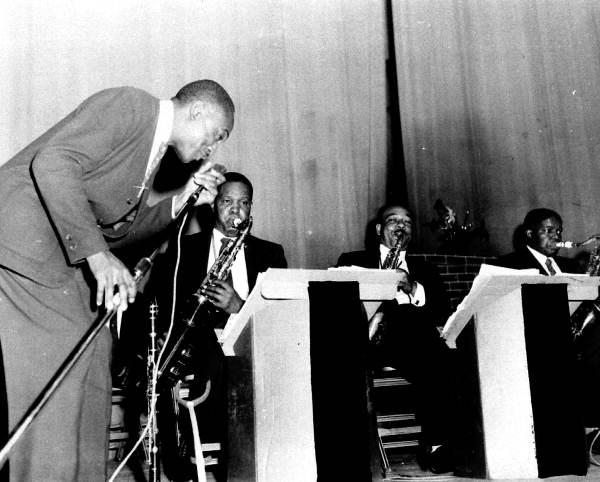 Musicians performing at the Municipal Auditorium - Pensacola, Florida.