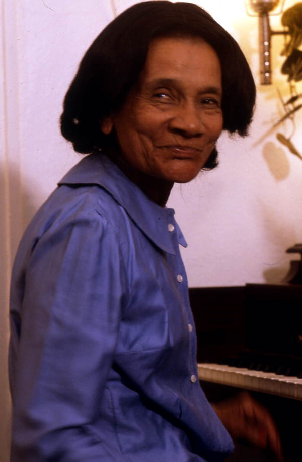 Piano player Ida Goodson - Pensacola, Florida.