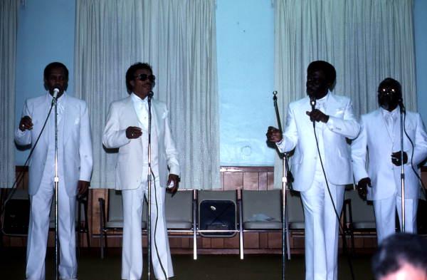 CBS Jubilaires quartet performing - Jacksonville, Florida.