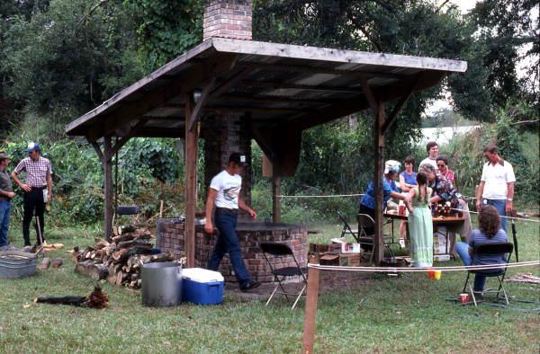Making syrup at Pioneer Days - Orlando, Florida.