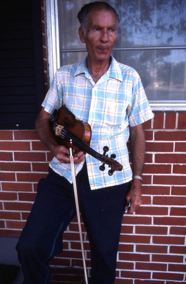 Fiddler Henry Somerset - Pensacola, Florida.