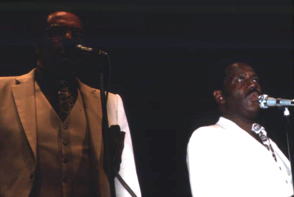 Members from the Dixie Hummingbirds performing at the Gospel Concert Reunion - Orlando, Florida.