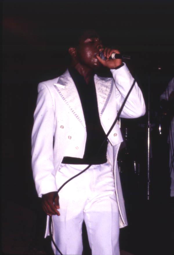 Member of the Cisrow Gospel Allstars performing at the Gospel Concert Reunion - Orlando, Florida.