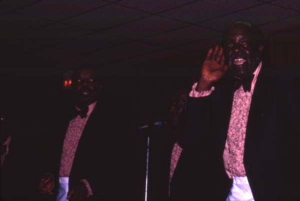 Members of the Master Keys during performance at the Gospel Concert Reunion - Orlando, Florida.