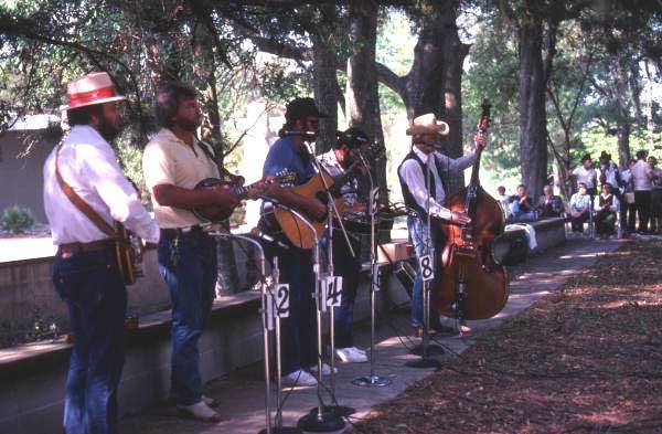 Bluegrass music at Jacksonville Art Museum - Jacksonville, Florida.