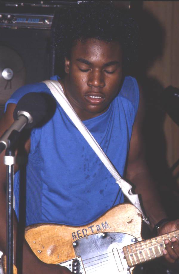 Red Tam playing guitar - Jacksonville, Florida.