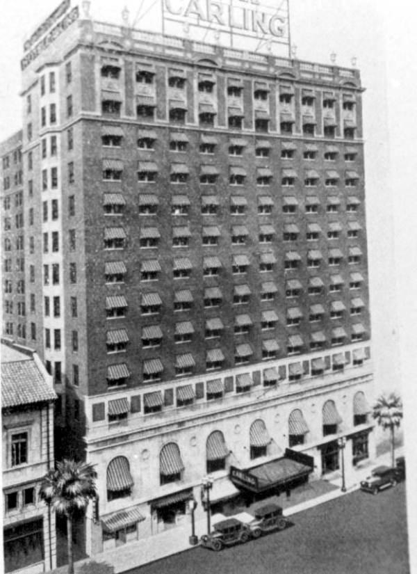 Carling Hotel - Jacksonville, Florida.