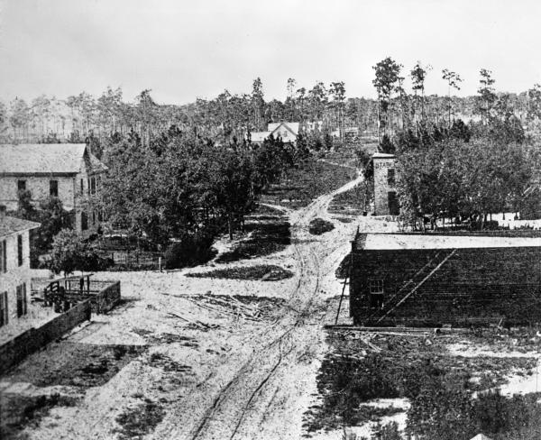 Orange Avenue in 1879 - Orlando.