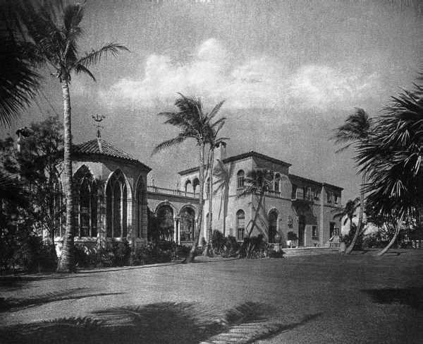 Home of Dr. Preston Pope Satterwhite - Palm Beach, Florida.