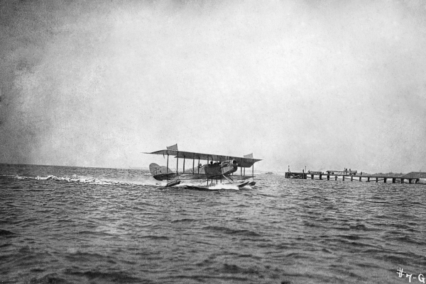 N-9 on the water - Naval Air Station Pensacola.