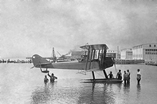 Navy seaplane - Naval Air Station Pensacola.