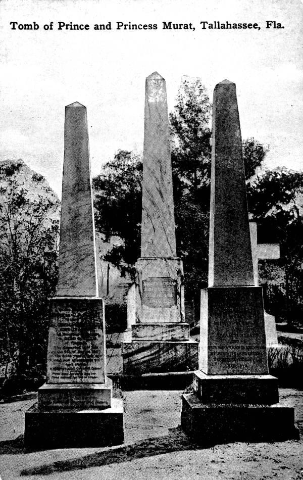 Tomb of Prince and Princess Murat - Tallahassee, Florida.