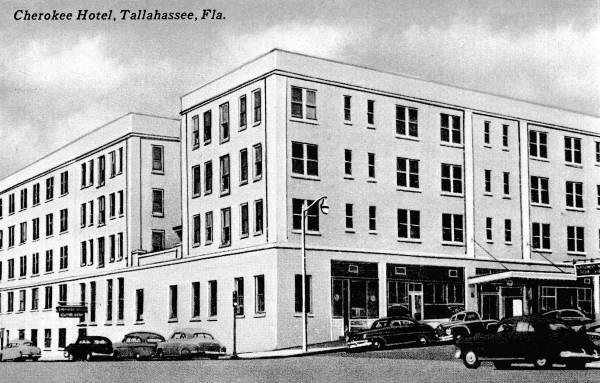 Cherokee Hotel - Tallahassee, Florida.