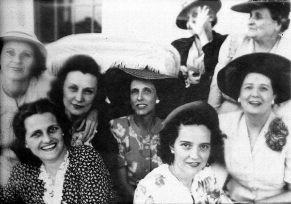 Informal picture of women at a party - Tallahassee, Florida.