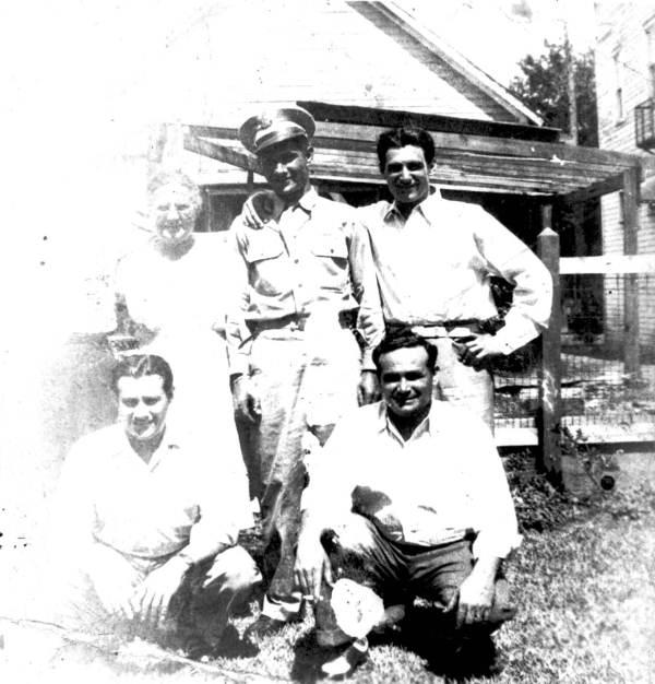 Steve, Joe, Tony, John, Angelo, and Marie Ferlita - Tampa, Florida.