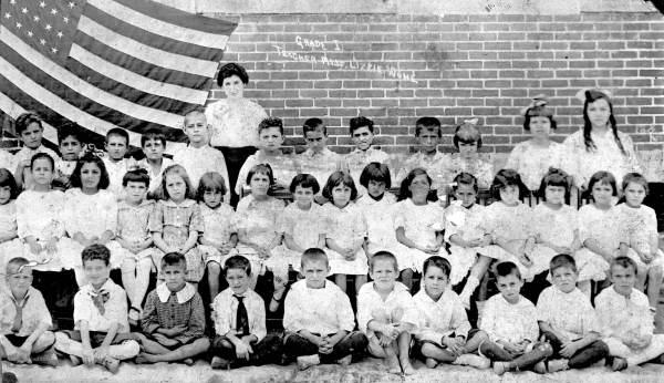 W.B. Henderson Elementary School, first grade - Tampa, Florida.