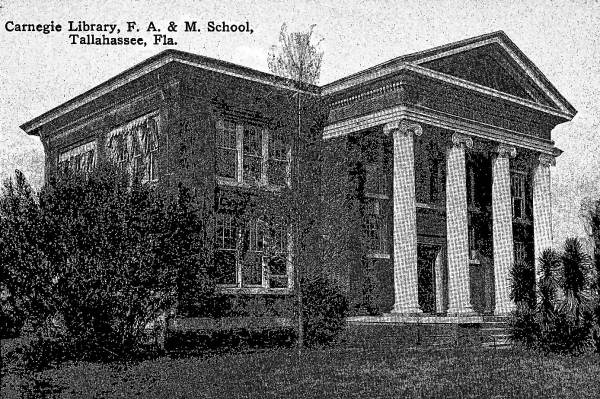Carnegie Library, Florida Agricultural and Mechanical School - Tallahassee, Florida.