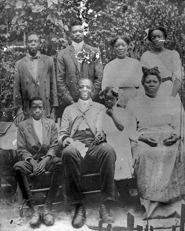 Alabama family of Betty Green - Tallahassee, Florida.