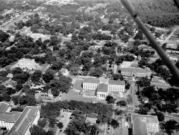 Aerial view of the Capitol Complex.