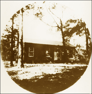 Old Philadelphia church: Gadsden County, Florida (18--).