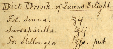 """Diet Drink of Queens Delight."""