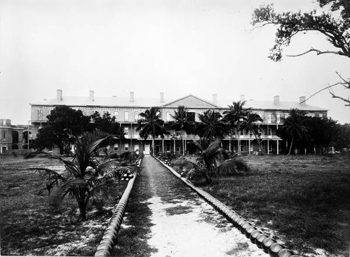 Quarantine station for Fort Jefferson: Dry Tortugas, Florida