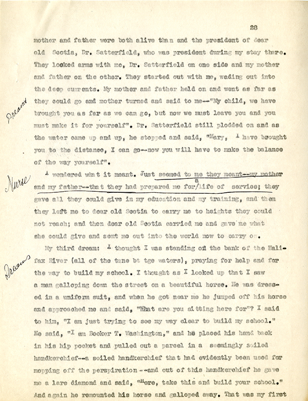 Mary McLeod Bethune Interview Page 28