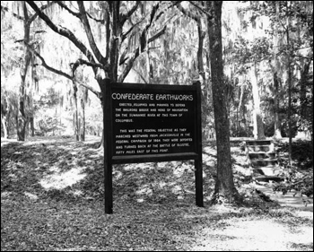 Interpretive sign at Suwannee River State Park : Madison County, Florida (196-)